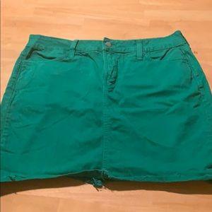 Fun skirt green NYDJ